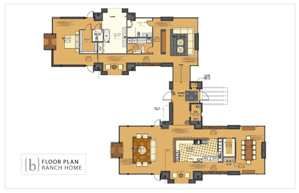 House plan with floor plan restaurant kitchen floor plan for Floor plan drafting services